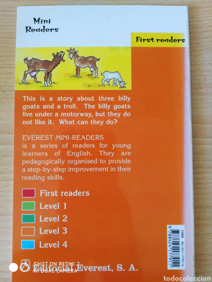 Libros: Three Billy goats grupp. Penny Hancock. Nuevo - Foto 2 - 218962772
