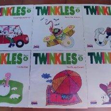 Libros: TWINKLES (ANAYA ENGLISH),NUMEROS DEL 1 AL 6,EDUCACION INFANTIL 5 AÑOS. Lote 219011441