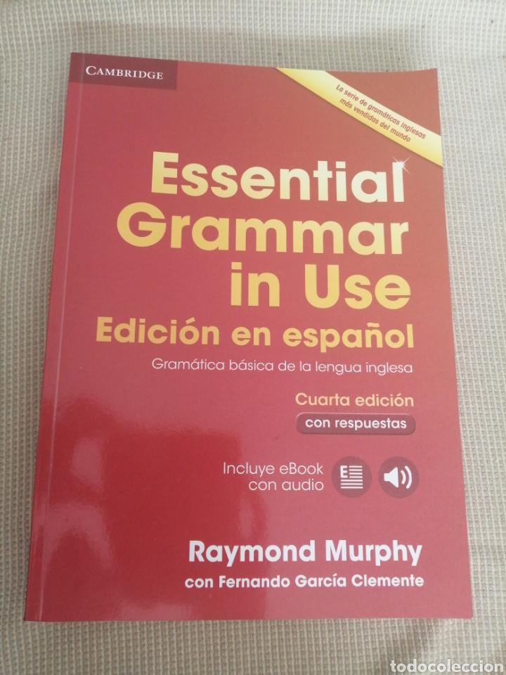 ESSENTIAL GRAMMAR IN USE. EDICIÓN ESPAÑOL. NO INCLUYE EL CD (Libros Nuevos - Idiomas - Inglés)