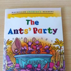 Libros: THE ANT'S PARTY. MACMILLAN CHILDREN'S READERS. NUEVO. Lote 219589102