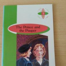 Libros: THE PRINCE AND THE PAUPER. MARE TWAIN. 1ESO. BURLINGTON. NUEVO. Lote 219590643
