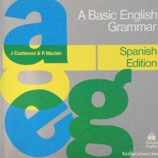 Livros: A BASIC ENGLISH GRAMMAR. SPANISH EDITION. OXFORD ENGLISH. NUEVO. Lote 222127193