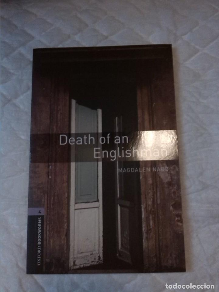 Libros: Death of an Englishman. Stage 4. (1400 headwords). Magdalen Nabb. Oxford Bookworms. 1992. - Foto 1 - 222434030