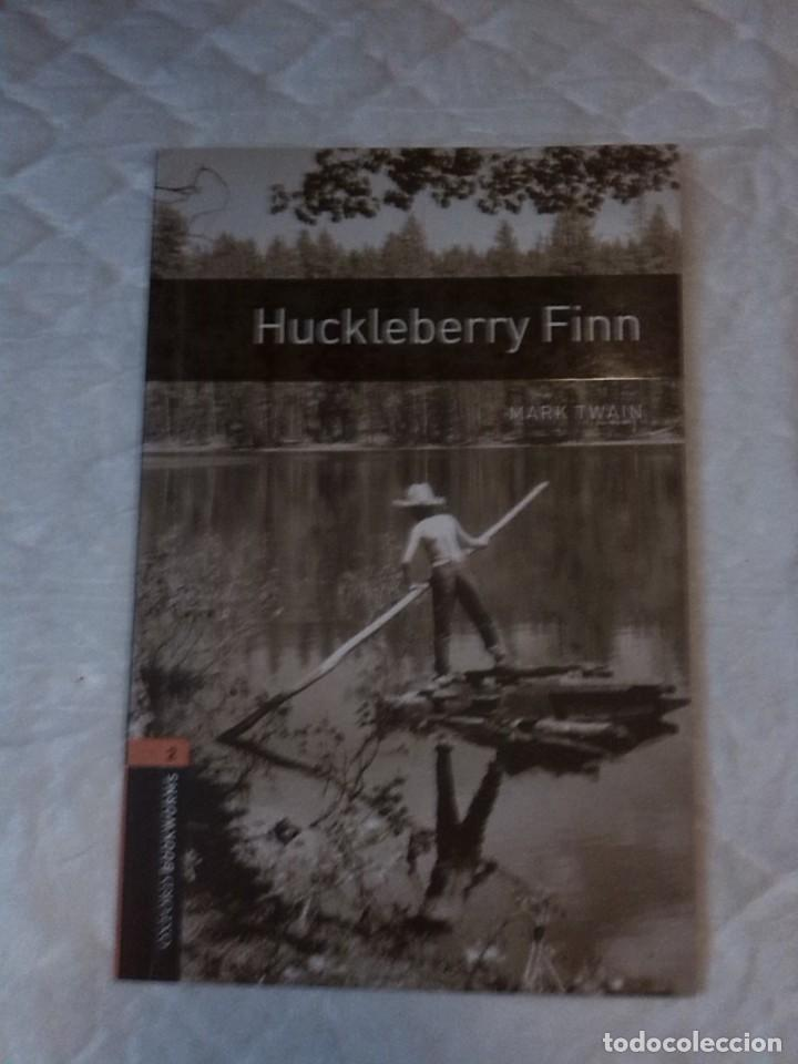 HUCKLEBERRY FINN. STAGE 2. (700 HEADWORDS). MARK TWAIN. OXFORD BOOKWORMS. 1994 (Libros Nuevos - Idiomas - Inglés)