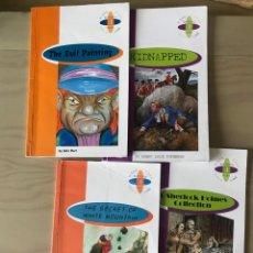 Libros: BURLINGTON BOOKS. 2 DE 2º ESO Y 2 DE 3ª ESO. Lote 223224998