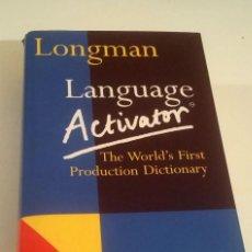 Libros: LANGUAGE ACTIVATOR. LONGMAN.. Lote 279495268