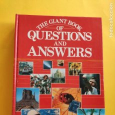 Libros: THE GIANT BOOK OF QUESTIONS AND ANSWERS - MUY BUEN ESTADO -. Lote 224631086