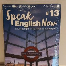 Libros: SPEAK ENGLISH NOW BY VAUGHAN / Nº 13 / LIBRO + CD & MP3 / LAS NUEVAS TÉCNICAS VAUGHAN / PRECINTADO.. Lote 228342255
