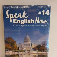 Libros: SPEAK ENGLISH NOW BY VAUGHAN / Nº 14 / LIBRO + CD & MP3 / LAS NUEVAS TÉCNICAS VAUGHAN / PRECINTADO.. Lote 228342385