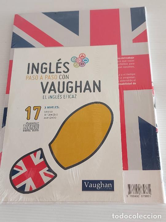 Libros: INGLÉS PASO A PASO CON VAUGHAN / 17 / EL INGLÉS EFICAZ / LIBRO + CD / PRECINTADO. - Foto 2 - 228579825