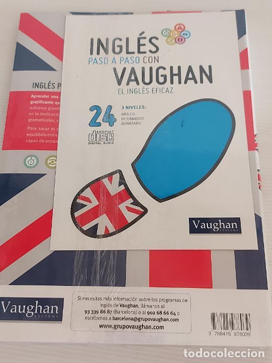 Libros: INGLÉS PASO A PASO CON VAUGHAN / 24 / EL INGLÉS EFICAZ / LIBRO + CD / PRECINTADO. - Foto 2 - 228580515