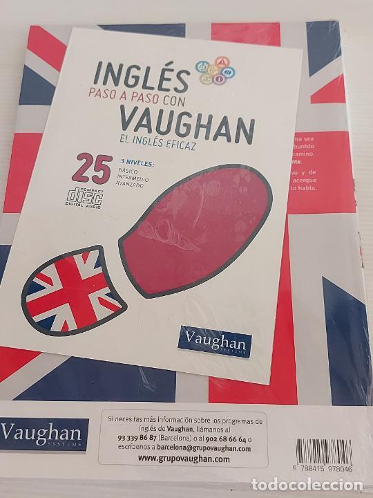 Libros: INGLÉS PASO A PASO CON VAUGHAN / 25 / EL INGLÉS EFICAZ / LIBRO + CD / PRECINTADO. - Foto 2 - 228580600