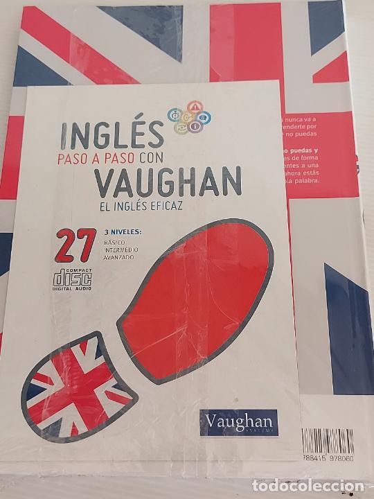 Libros: INGLÉS PASO A PASO CON VAUGHAN / 27 / EL INGLÉS EFICAZ / LIBRO + CD / PRECINTADO. - Foto 2 - 228580830