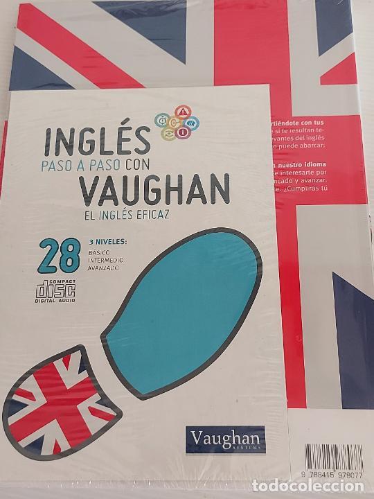Libros: INGLÉS PASO A PASO CON VAUGHAN / 28 / EL INGLÉS EFICAZ / LIBRO + CD / PRECINTADO. - Foto 2 - 228581050