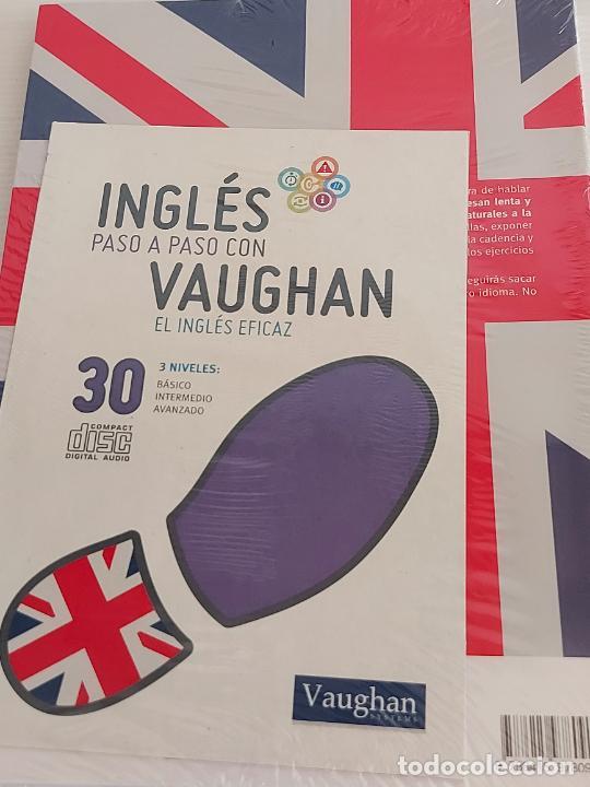 Libros: INGLÉS PASO A PASO CON VAUGHAN / 30 / EL INGLÉS EFICAZ / LIBRO + CD / PRECINTADO. - Foto 2 - 228581335