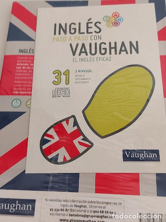 Libros: INGLÉS PASO A PASO CON VAUGHAN / 31 / EL INGLÉS EFICAZ / LIBRO + CD / PRECINTADO. - Foto 2 - 228581460