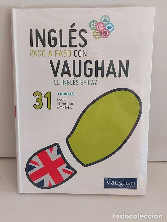 INGLÉS PASO A PASO CON VAUGHAN / 31 / EL INGLÉS EFICAZ / LIBRO + CD / PRECINTADO. (Libros Nuevos - Idiomas - Inglés)