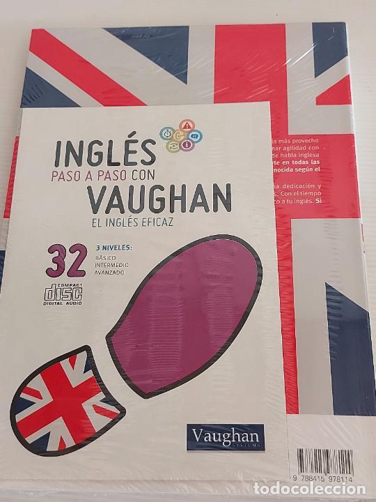 Libros: INGLÉS PASO A PASO CON VAUGHAN / 32 / EL INGLÉS EFICAZ / LIBRO + CD / PRECINTADO. - Foto 2 - 228581535