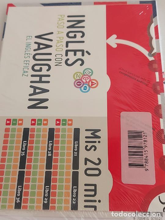 Libros: INGLÉS PASO A PASO CON VAUGHAN / 33 / EL INGLÉS EFICAZ / LIBRO + CD / PRECINTADO. - Foto 2 - 228581615