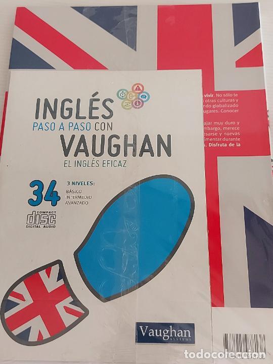 Libros: INGLÉS PASO A PASO CON VAUGHAN / 34 / EL INGLÉS EFICAZ / LIBRO + CD / PRECINTADO. - Foto 2 - 228581905