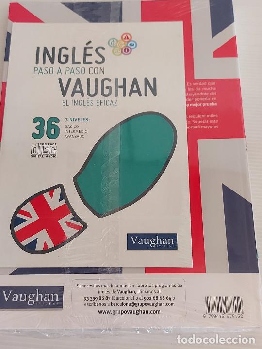 Libros: INGLÉS PASO A PASO CON VAUGHAN / 36 / EL INGLÉS EFICAZ / LIBRO + CD / PRECINTADO. - Foto 2 - 228582310