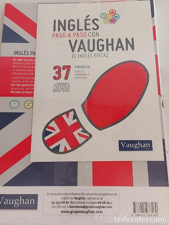 Libros: INGLÉS PASO A PASO CON VAUGHAN / 37 / EL INGLÉS EFICAZ / LIBRO + CD / PRECINTADO. - Foto 2 - 228582385