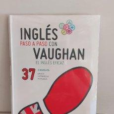 Libros: INGLÉS PASO A PASO CON VAUGHAN / 37 / EL INGLÉS EFICAZ / LIBRO + CD / PRECINTADO.. Lote 228582385