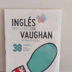 Libros: INGLÉS PASO A PASO CON VAUGHAN / 38 / EL INGLÉS EFICAZ / LIBRO + CD / PRECINTADO.. Lote 228582451