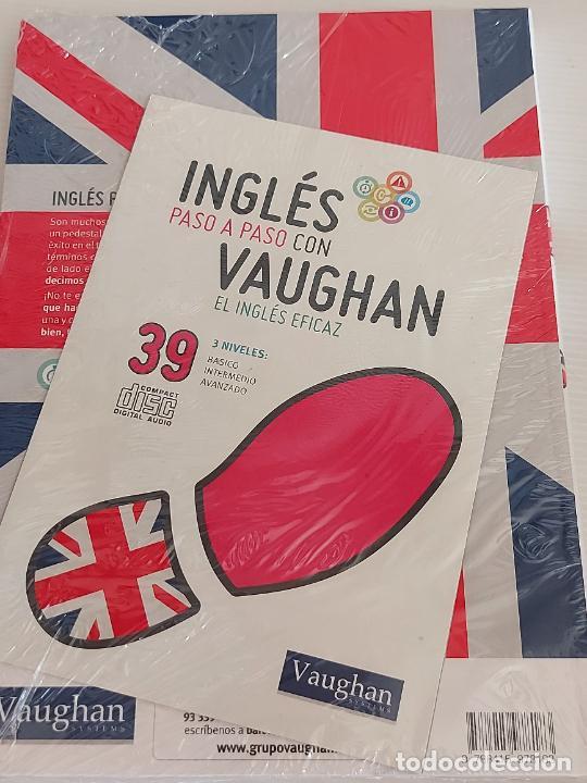 Libros: INGLÉS PASO A PASO CON VAUGHAN / 39 / EL INGLÉS EFICAZ / LIBRO + CD / PRECINTADO. - Foto 2 - 228582525