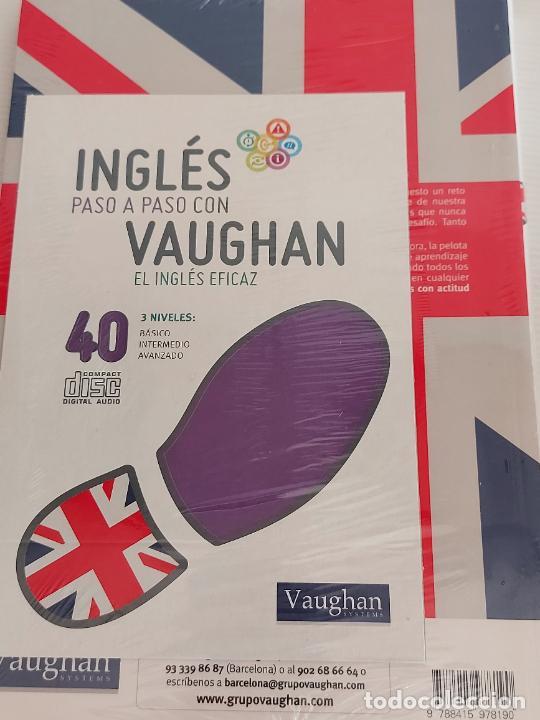 Libros: INGLÉS PASO A PASO CON VAUGHAN / 40 / EL INGLÉS EFICAZ / LIBRO + CD / PRECINTADO. - Foto 2 - 228582590