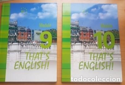 THAT'S ENGLISH! CURSO AVANZADO I. MODULOS 9 Y 10 (Libros Nuevos - Idiomas - Inglés)