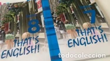 THAT'S ENGLISH! CURSO INTERMEDIO II. MOD. 7 Y 8 CON VIDEOS Y AUDIO (Libros Nuevos - Idiomas - Inglés)