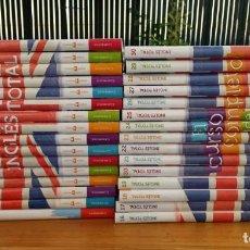 Libros: COLECCIÓN CURSO INGLÉS TOTAL (DEL 1 AL 30 + SUS CD+ DVD). CAMBRIDGE UNIVERSITY PRESS. Lote 230802795