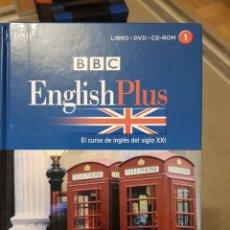 Libros: ENGLISH PLUS. CURSO DE INGLÉS (LIBRO+DVD+CDROM). Lote 232218125