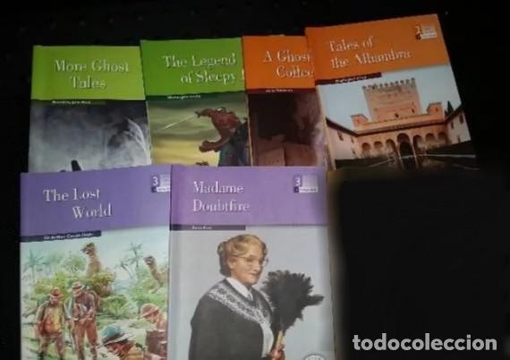 Libros: 6 CUENTOS EN INGLES CON ACTIVIDADES- 1° 2° y 3° de la ESO - Foto 3 - 210843185