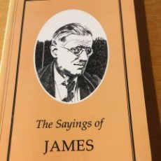 Libros: THE SAYINGS OF JAMES JOYCE. Lote 233800265