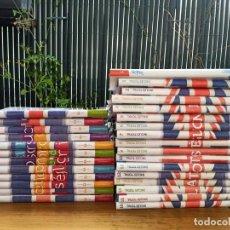 Libros: COLECCIÓN CURSO INGLÉS TOTAL (30 LIBROS + CDS+ DVDS). Lote 234369785