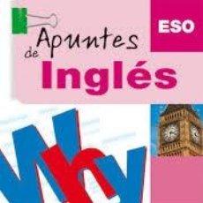 Libros: APUNTES DE INGLÉS. ESO. PARRAMÓN. Lote 235669295