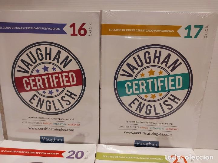 Libros: OPORTUNIDAD !! VAUGHAN CERTIFIED ENGLISH / NUMS 14 AL 25 / LIBROS + CDS / PRECINTADOS. 12 VOL. - Foto 3 - 236615010