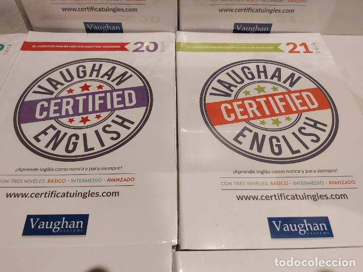 Libros: OPORTUNIDAD !! VAUGHAN CERTIFIED ENGLISH / NUMS 14 AL 25 / LIBROS + CDS / PRECINTADOS. 12 VOL. - Foto 5 - 236615010