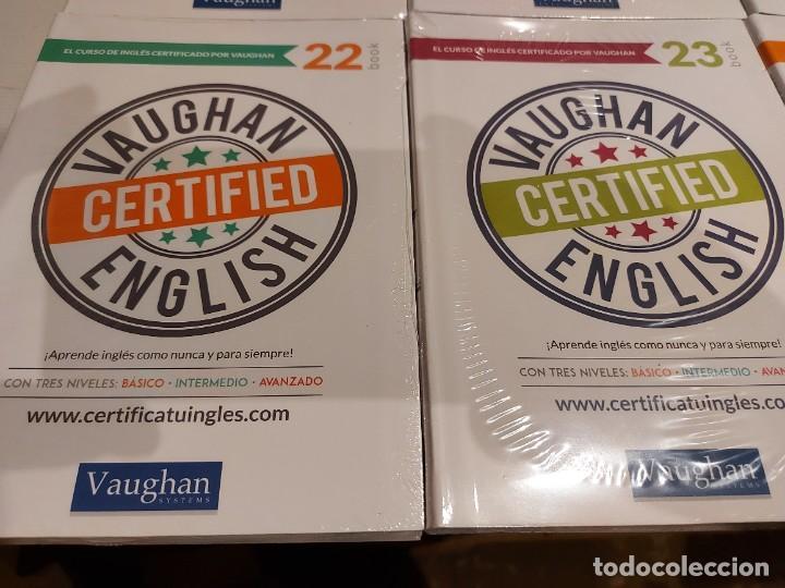 Libros: OPORTUNIDAD !! VAUGHAN CERTIFIED ENGLISH / NUMS 14 AL 25 / LIBROS + CDS / PRECINTADOS. 12 VOL. - Foto 6 - 236615010