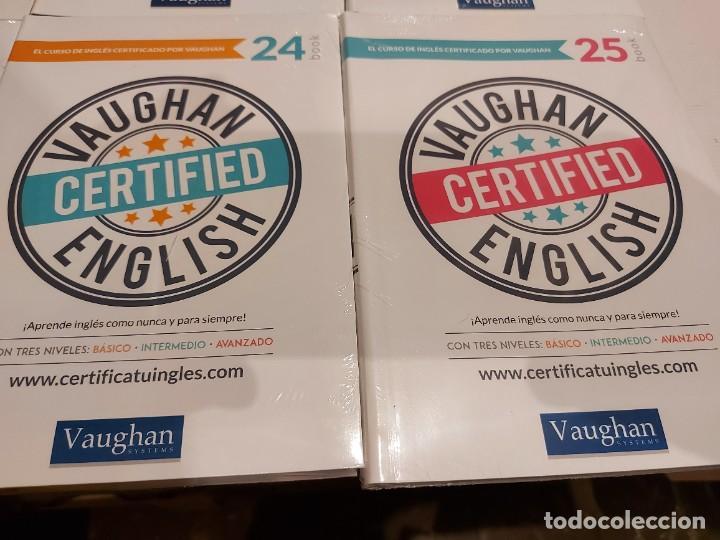 Libros: OPORTUNIDAD !! VAUGHAN CERTIFIED ENGLISH / NUMS 14 AL 25 / LIBROS + CDS / PRECINTADOS. 12 VOL. - Foto 7 - 236615010
