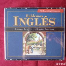 Libros: HABLEMOS INGLÉS. ENGLISH FOR NATIVE SPANISH SPEAKERS. 3XCD NUEVO. PRECINTADO. CURSO DE INGLÉS.. Lote 237748730