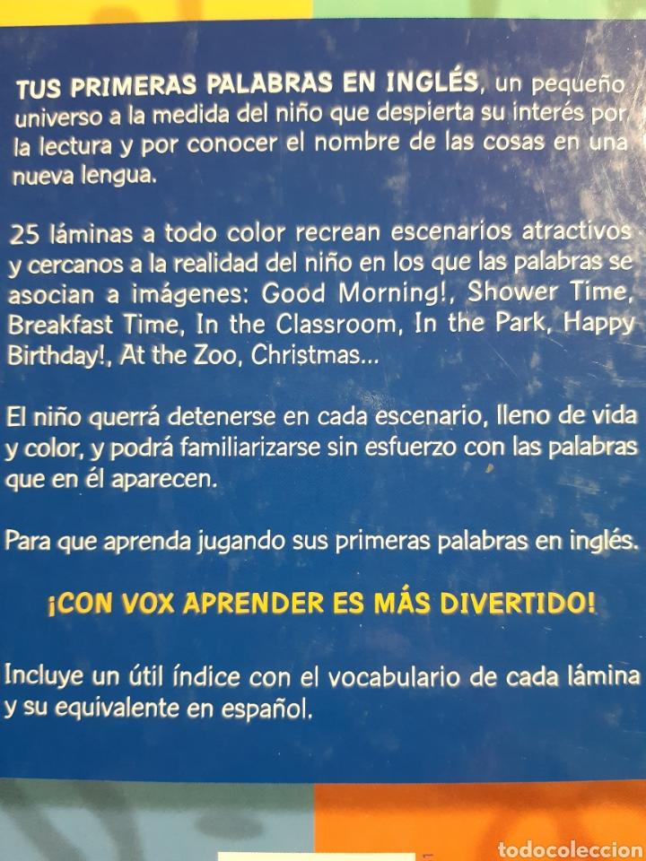 Libros: TUS PRIMERAS PALABRAS EN INGLES ENGLISH PICTURE DICTIONARY VOX - Foto 10 - 239828830