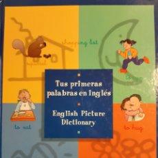 Libros: TUS PRIMERAS PALABRAS EN INGLES ENGLISH PICTURE DICTIONARY VOX. Lote 239828830