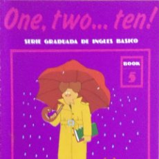 Libros: ONE, TWO...TEN. N*5. CUADERNO DE TRABAJO. NUEVO.. Lote 240824625