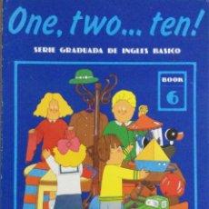 Libros: ONE, TWO...TEN. N*6. CUADERNO DE TRABAJO. NUEVO. Lote 240825025