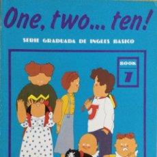 Libros: ONE, TWO...TEN. N*7. CUADERNO DE TRABAJO. NUEVO. Lote 240825360