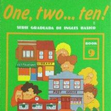 Libros: ONE, TWO...TEN. N*9. CUADERNO DE TRABAJO. NUEVO. Lote 240825905