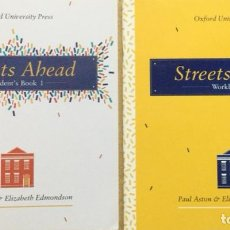 Libros: STREETS AHEAD STUDENT´S BOOK 1 + WORKBOOK. Lote 240883355